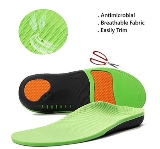 Replaceable Cover Insoles for Hiking Boots